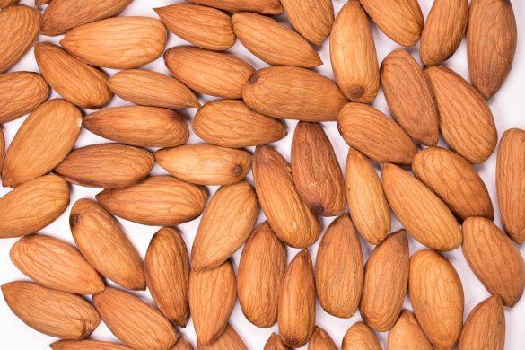 almond, background, badam
